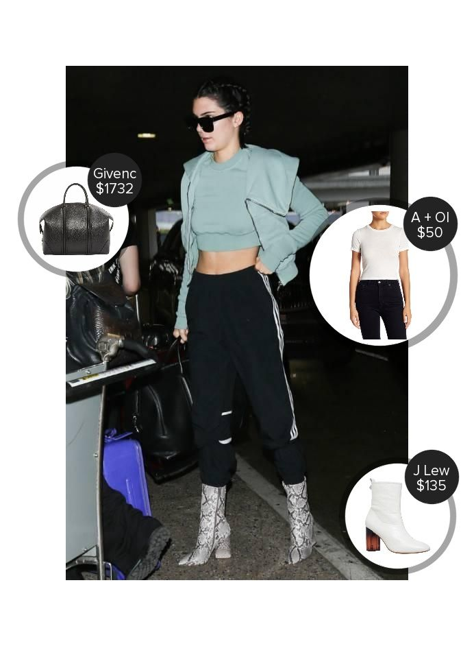 Kendall Jenner Lax Airport - seen carrying Givenchy. #givenchy  #kendalljenner @mode.ai