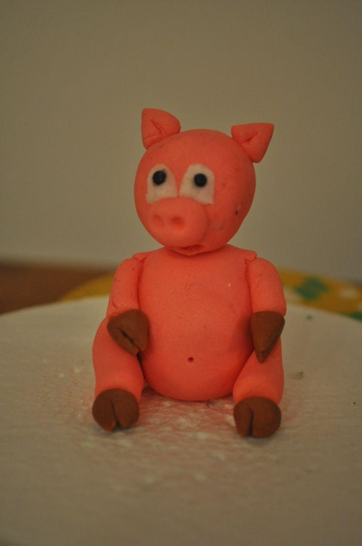 Figuras en pasta de goma