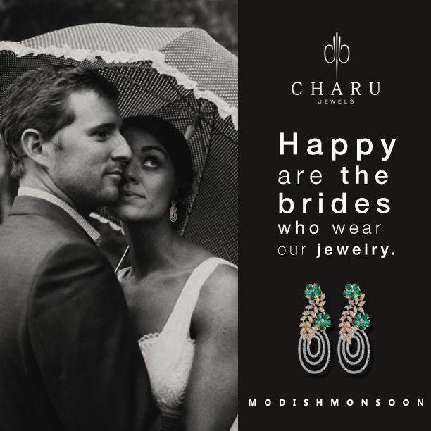 Happy are the brides who wear our jewelry. #monsoonbride #modishmonsoon #bridaljewelry #weddingjewelry #bridalcollection #jewelryjunkie #jewelry #monsoonwedding #couture #designer