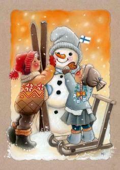 Kaarina Toivanen ~ We Will Build a Snowman