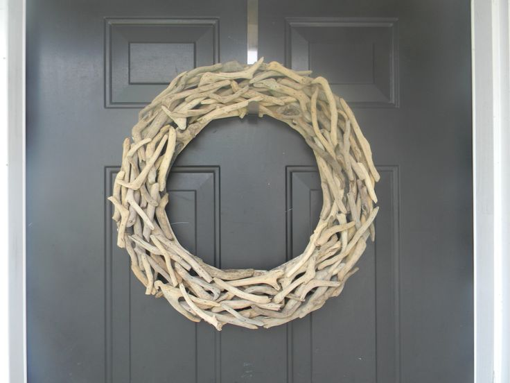 Large Driftwood Wreath, Plain Driftwood Wreath, Coastal Wreath, DIY Coastal Wreath, Driftwood Decor, Beach Wreath by AdariaHomeAccents on Etsy https://www.etsy.com/listing/234255927/large-driftwood-wreath-plain-driftwood