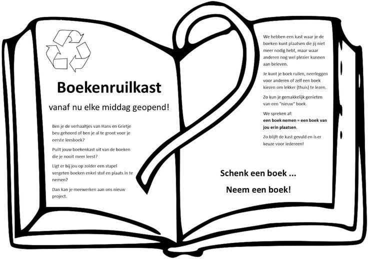 Klasweblog van 3abc: Boekenruilkast