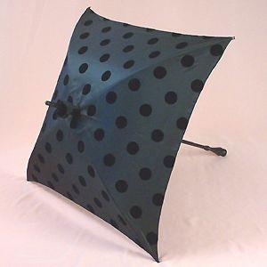 What a unique polka dot umbrella
