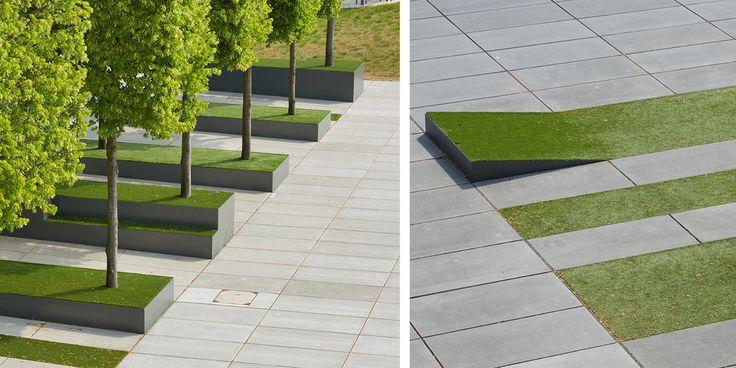 Neubau bbraun avitum werte fabrik in melsungen germany for Fabrik landscape architects