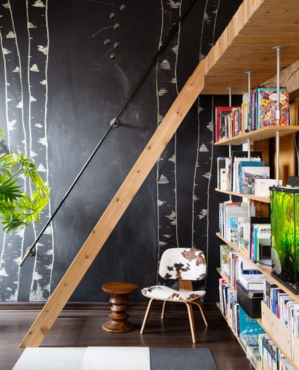 20 best Idées créatives  un tableau du0027école chez soi images on - apprendre a peindre un mur