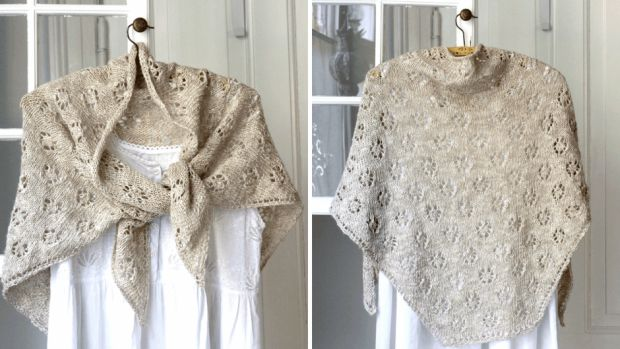 Strik forårets fineste sjal | Femina
