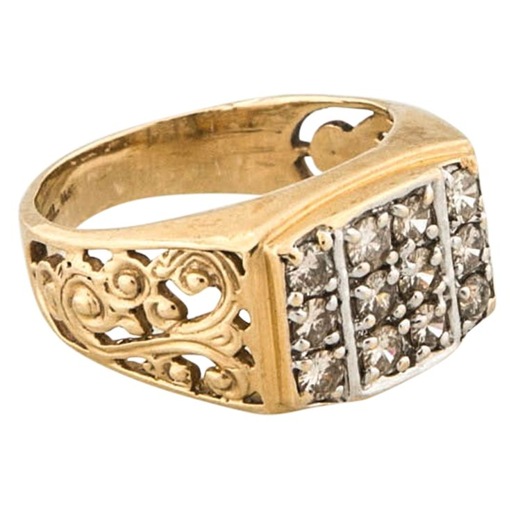 The 25 best Mens gold rings ideas on Pinterest