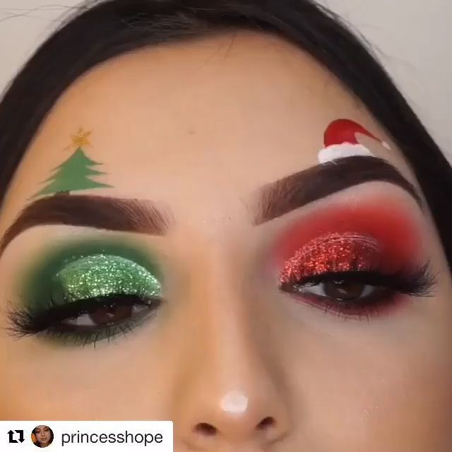 christmas makeup #weihnachten bare minerals contour #bare #Contour #facemakeup #facemakeupbeforeandafter #minerals Face Makeup