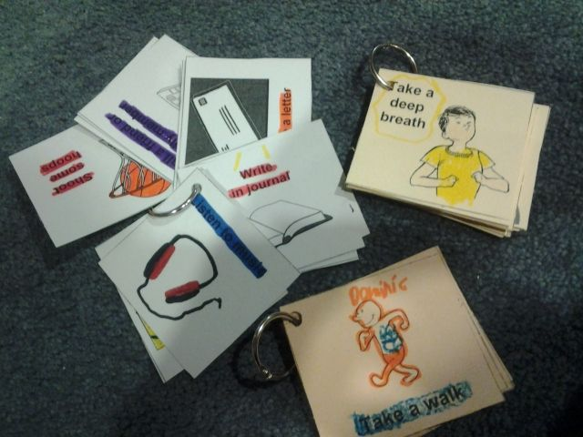 Therapeutic Interventions for Children: Coping Skills Flashcards