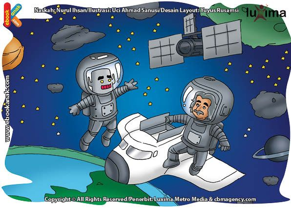 ilustrasi rahasia keajaiban ruang angkasa, Di Manakah Para Ilmuwan Tinggal Selama Berbulan-bulan di Ruang Angkasa