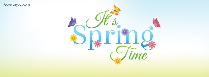 It's Spring Time Facebook Cover coverlayout.com