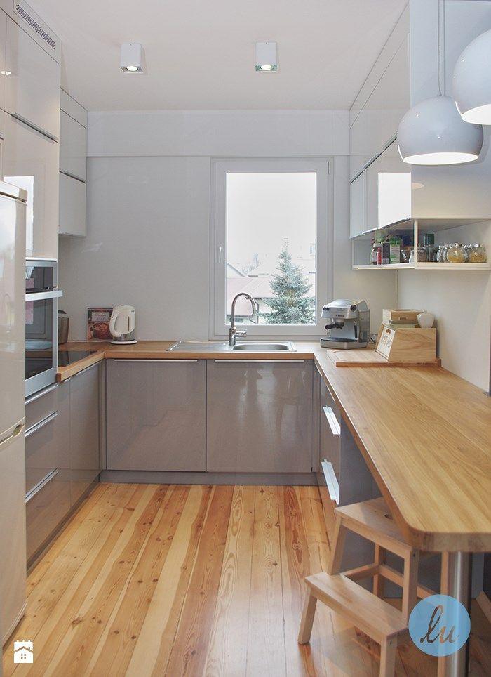 Aranżacje wnętrz - Kuchnia: Kuchnia styl Nowoczesny - Luiza Raczyńska Architektura Wnętrz. Przeglądaj, dodawaj i zapisuj najlepsze zdjęcia, pomysły i inspiracje designerskie. W bazie mamy już prawie milion fotografii!