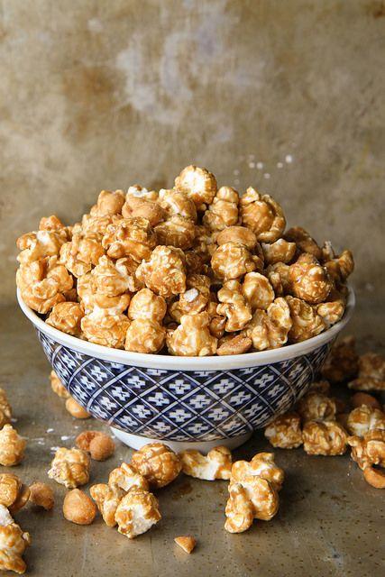 Bourbon Caramel Corn with Honey Roasted Peanuts by Heather Christo, via Flickr