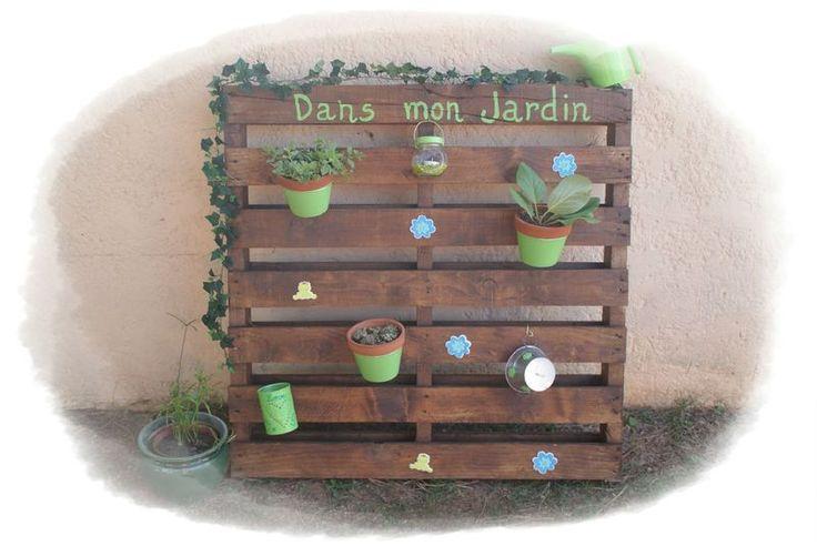 Jardin vertical et ... balançoire