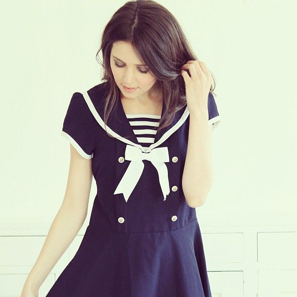 The cutest sailor dress ever!