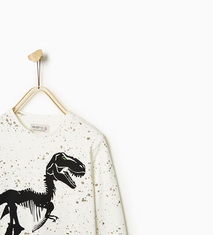 ZARA - KIDS - DINOSAUR TOP