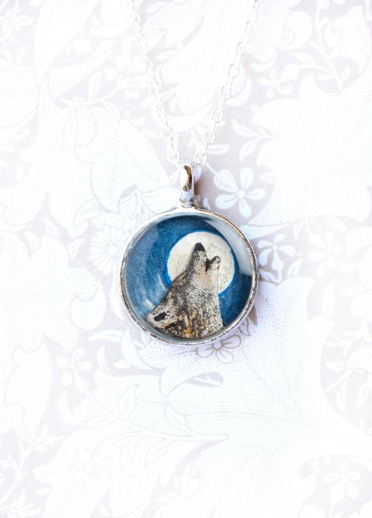Wolf totem necklace - photo#28