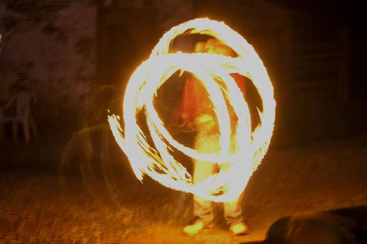 Osian and his fire staff