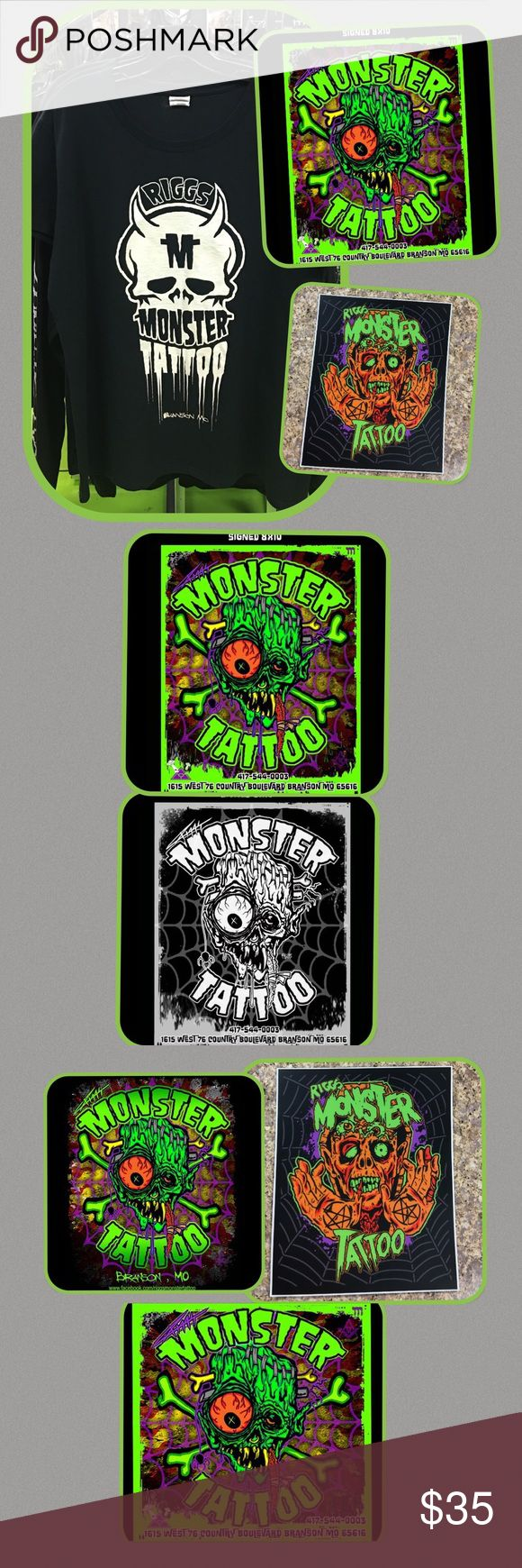 Riggs Monster Tattoo Bundle Men's Boutique Monster