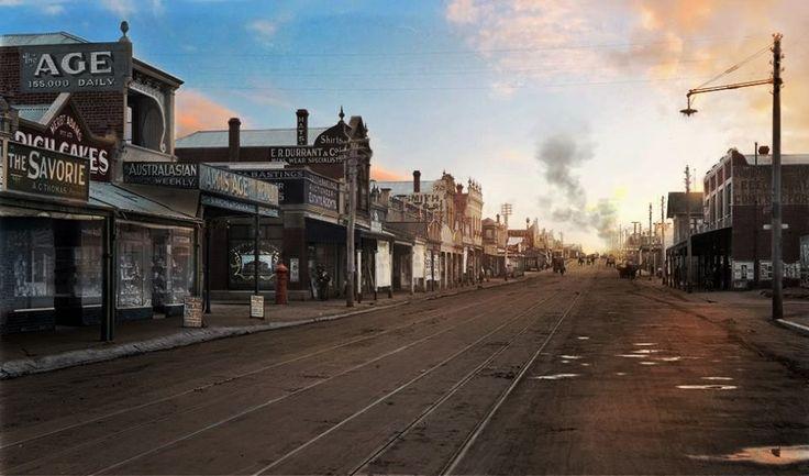 26th of November 1919, Melbourne Australia. That's High St Thornbury!