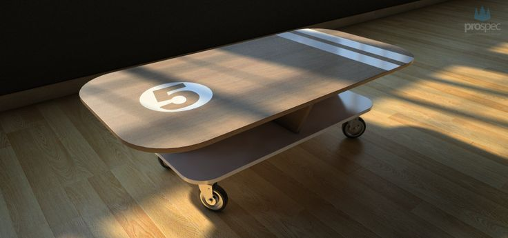 Athlos coffee table by prospec|designs. Find more about us at www.prospecdesigns.eu