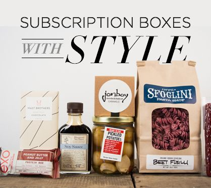 Best Monthly Subscription Boxes