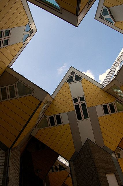 Rotterdam de kubus woningen,,,,,,,,,,,,lbxxx.