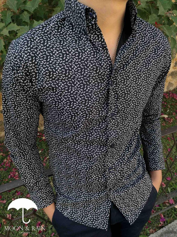 Men´s fashion outfit por Moon & Rain High Fashion Men, Men's Fashion, Fashion Outfits, Stylish Shirts, Cool Shirts, Formal Men Outfit, Dress Shirts, Shirt Style, Casual