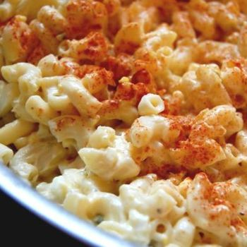 Deviled egg pasta salad recipe ziplist sides soups for How to make homemade deviled egg potato salad