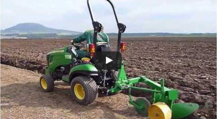 Agrotipa, Fanda, John Deere, tractor, small tractor, plough