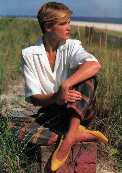 Perry Ellis, American Vogue, December 1984.