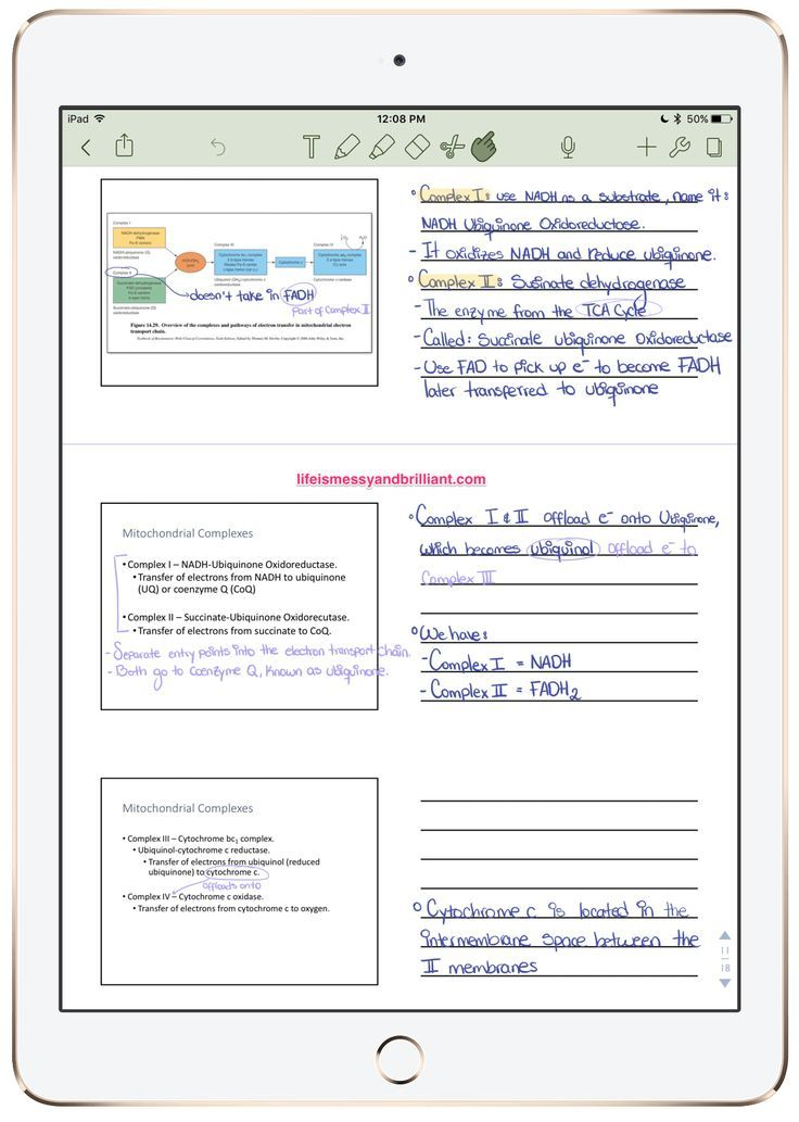 How to efficiently take powerpoint notes on the ipad