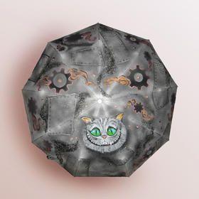 Стимпанк, steampunk, ручная роспись, ручная работа, авторские принты на заказ в интернет-магазине. Зонт стильный ручной работы в Санкт-Петербурге с чеширским котом в стиле стимпанк. #Стимпанк, #steampunk, #ручнаяроспись, #ручнаяработа,  #авторский #зонт #зонтик #umbrella #дизайнерская #крутой #стильный #модный #оригинальный #заказ #хендмейд #tshirt #original #print #draw #drawing #принт #женский #модные #вещи #мода #интересные