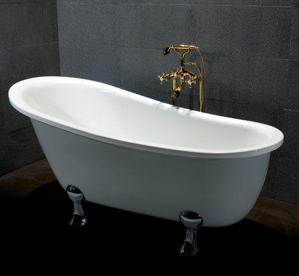 Pi di 25 fantastiche idee su vasche da bagno su pinterest - Vasche da bagno ovali ...