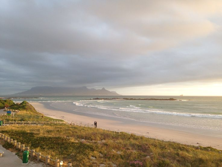 Table Mountain seen from Eden on the Bay in Bloubergstrand