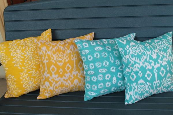 batik ikat pillow