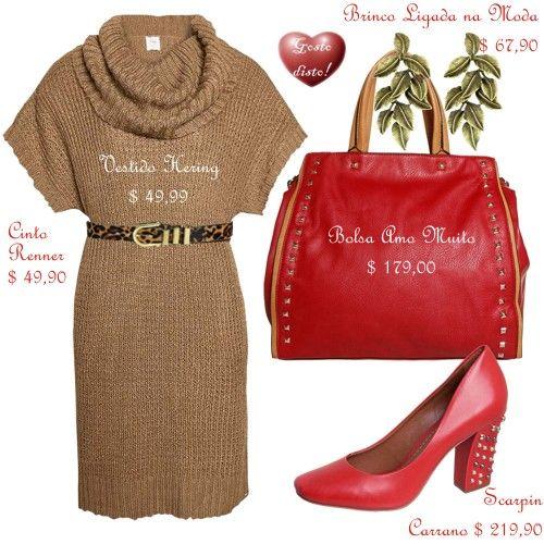 Como usar sapato vermelho: 1 Sapato Vermelho = 4 Looks - How to wear red shoes