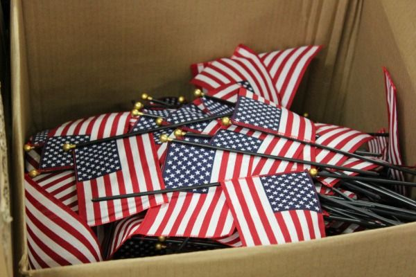 The Annin Flag Company in Coshocton manufactures sewn stripe US flags, stick…