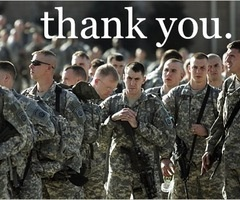 always support the troops <3