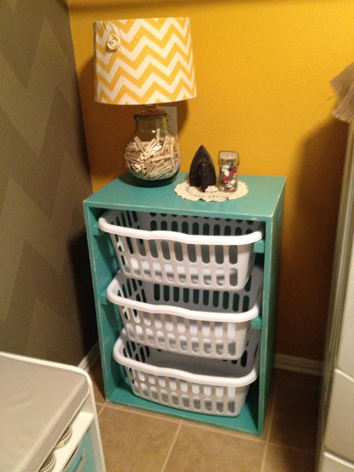 I'm going to make one of these for my laundry room. Done and done.