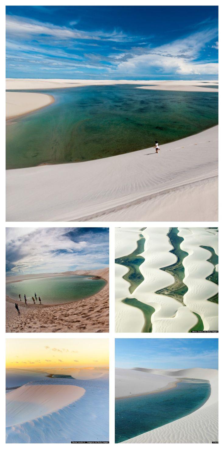 Brazil's Lençóis Maranhenses National Park is a desert oasis