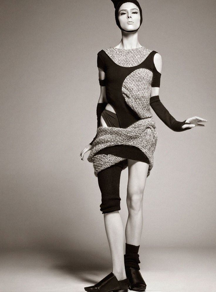 """Coco Rocha in """"Shape Shift"""" by Steven Meisel for Vogue Italia, October 2014 See more from this set here."""
