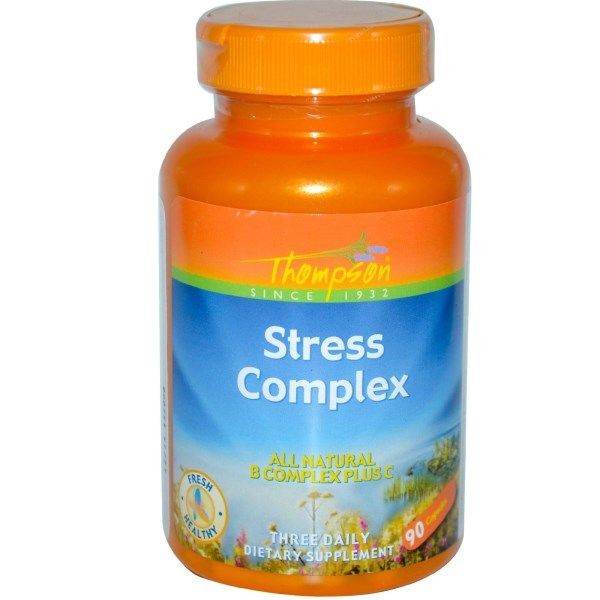 Thompson, Stress Complex, 90 Capsules  #stress #formula #support #balance #management #iherb #thingstobuy #shopping #relief