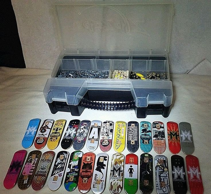 26 Tech Deck Boards Trucks Wheels Parts Black Label