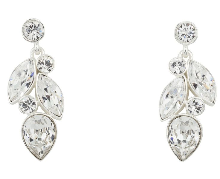 Incredible doesn't begin to describe this earring! 100224-E2 MADE WITH SWAROVSKI ELEMENTS