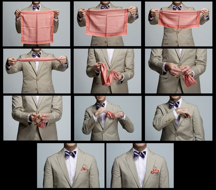 Ways To Fold The Pocket Square | Mens Fashion & Style Blog