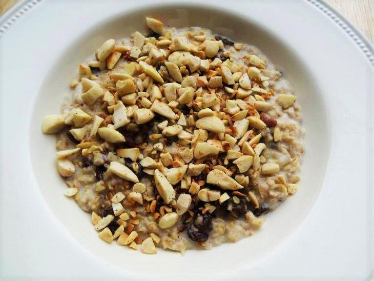 Amandel havremout   Almond oatmeal   Amandel   Almond   Havermout   Oatmeal   Ontbijt   Breakfast   Eten   Food   Gezond   Healthy   Dreambody transformation   De Levensstijl   Asja Tsachigova