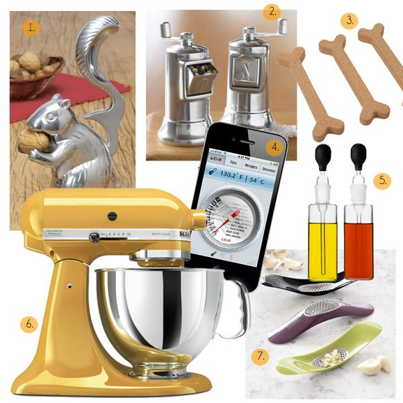 Top 15 kitchen gadgets on Design Sponge.  We're thrilled to see they selected our Joseph Joseph garlic press!
