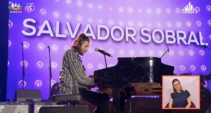 O Peido Polémico De Salvador Sobral No Concerto Juntos Por Todos