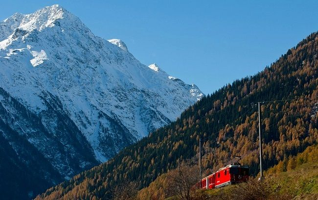 Week-end insolite en Suisse à bord d'un train